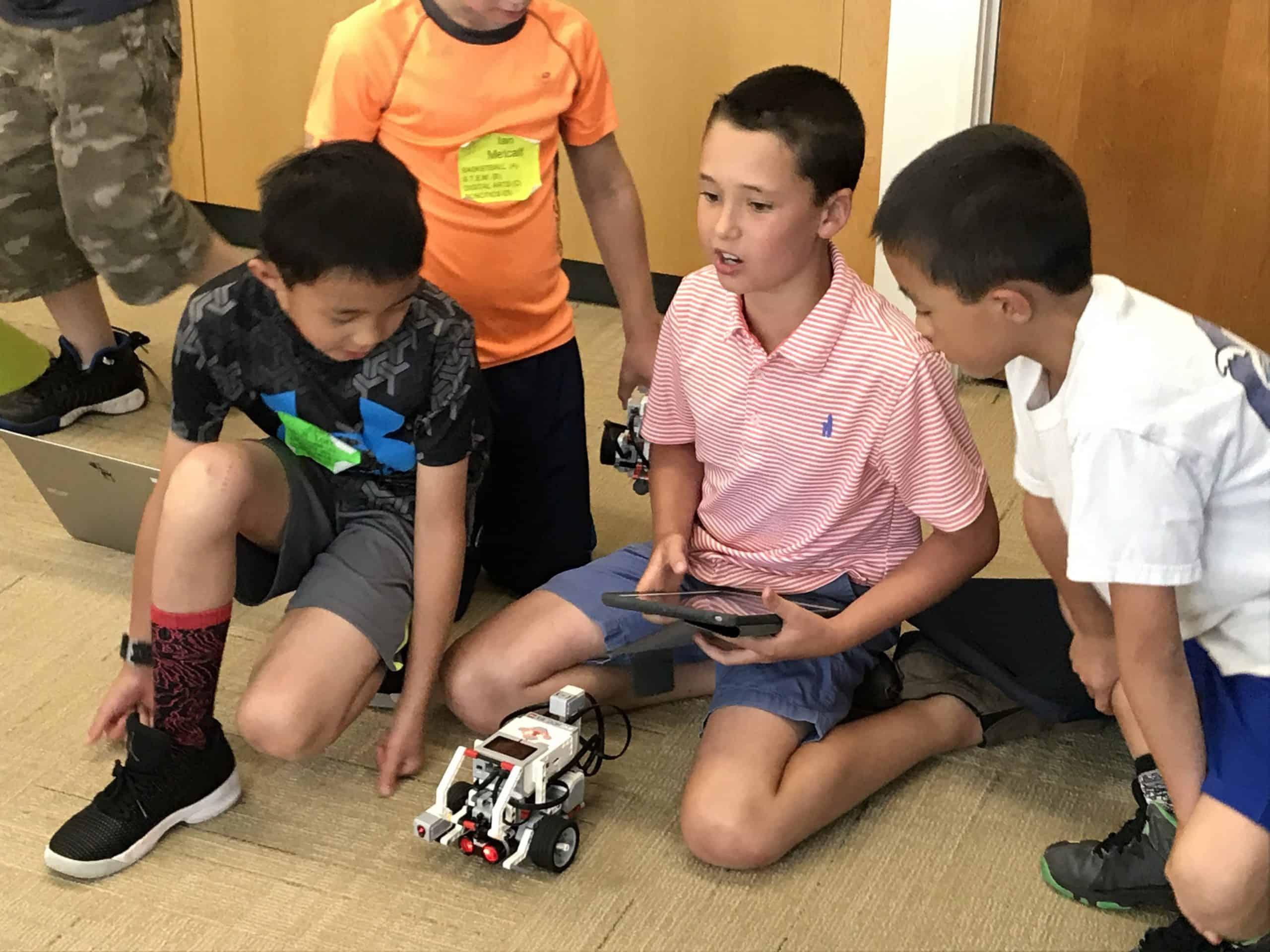Robotics with Happy Code club