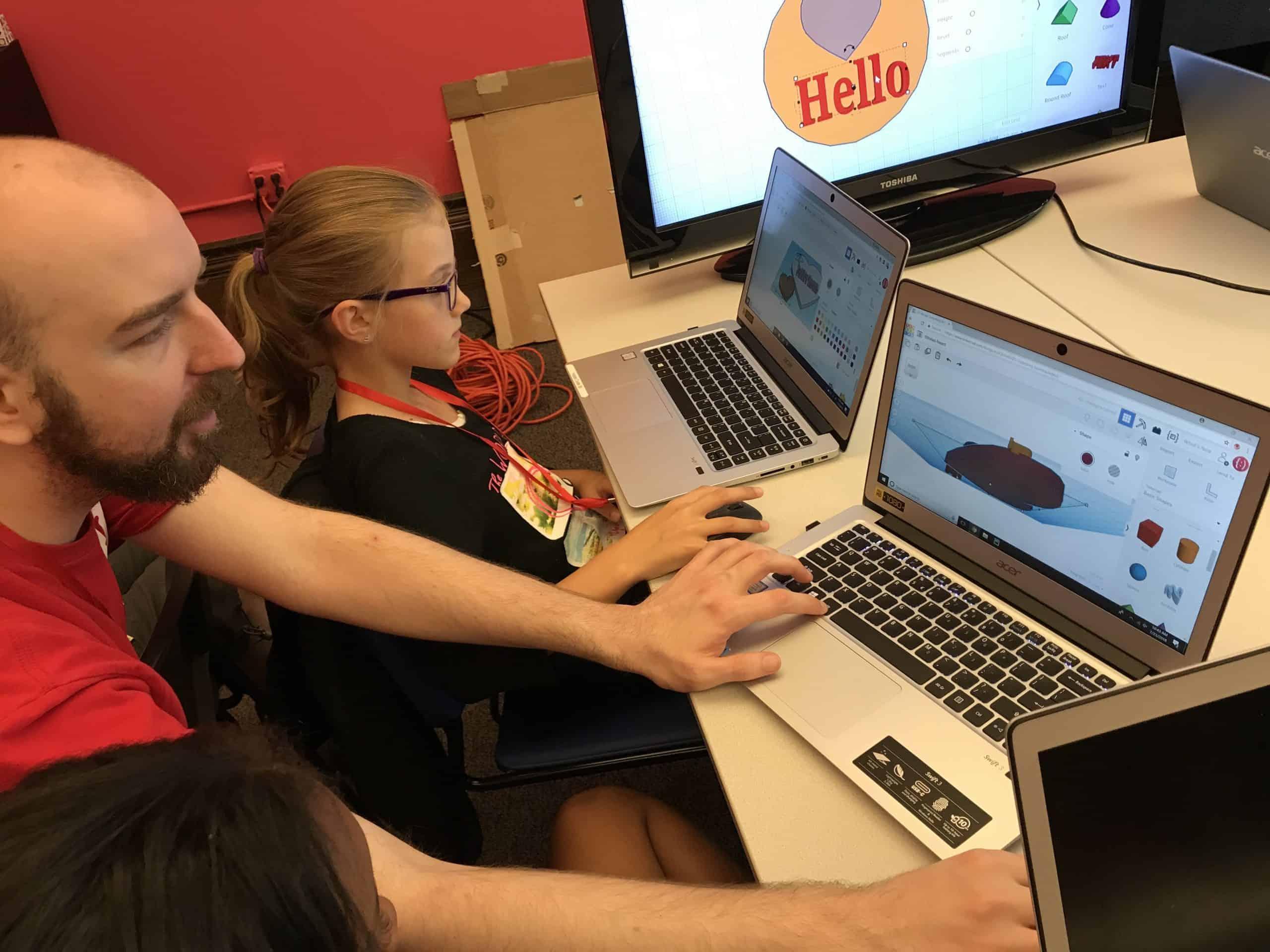 Teacher Partner at Happy Code club